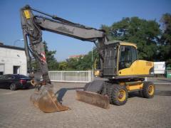 Excavator pe Pneuri Volvo EW 180 C