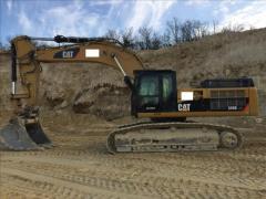 Excavator pe senile Cat 345 DLME